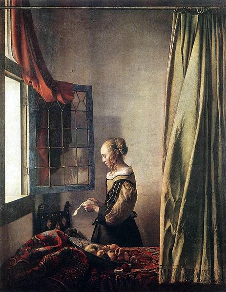 463px-Jan_Vermeer_-_Girl_Reading_a_Letter_at_an_Open_Window